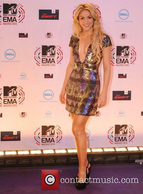 Shakira and Mtv 8