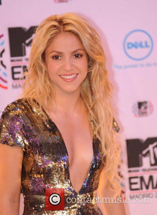 Shakira and Mtv 6