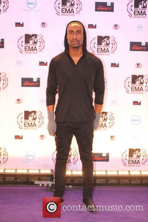 Simon Webbe MTV Europe Music Awards 2010 at...