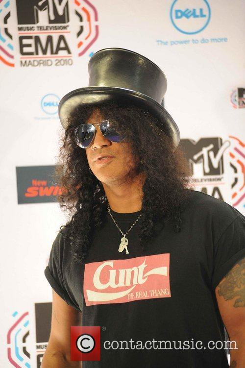 Slash and Mtv 9
