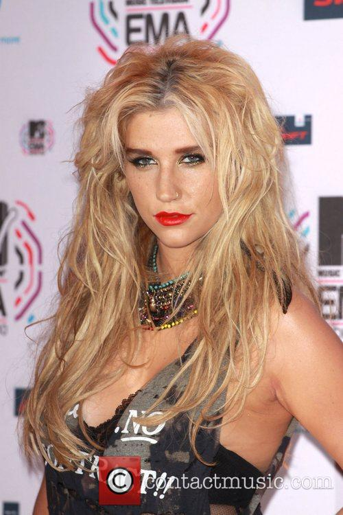 Ke$ha aka Kesha MTV Europe Music Awards 2010...