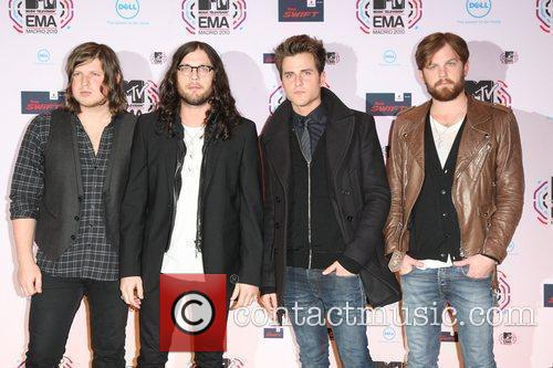 Kings Of Leon, Mtv and Mtv european music awards 2