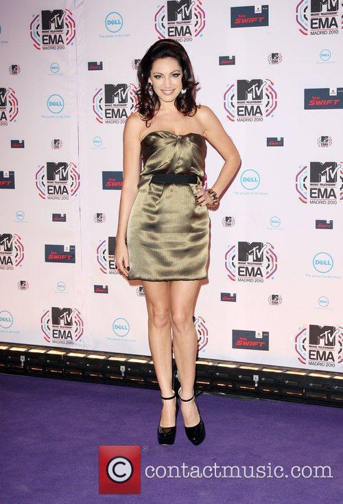 Kelly Brook MTV Europe Music Awards 2010 at...