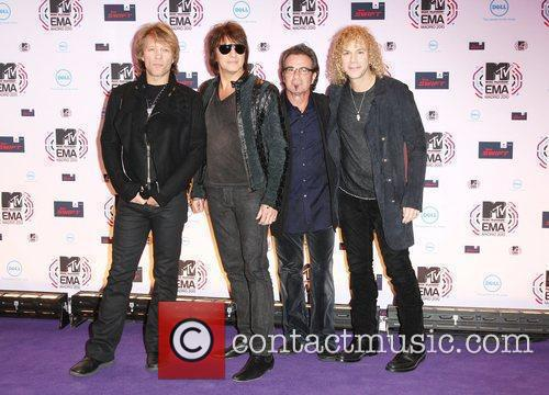 Bon Jovi MTV Europe Music Awards 2010 at...
