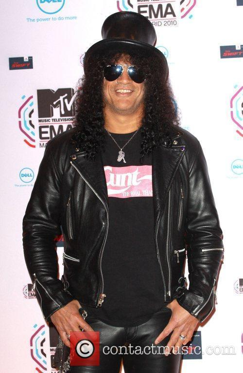Slash and Mtv 6