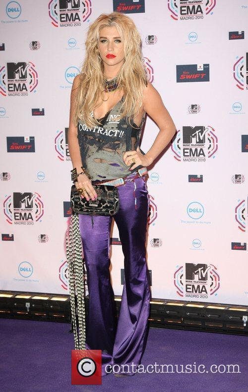Ke$ha MTV Europe Music Awards 2010 at the...