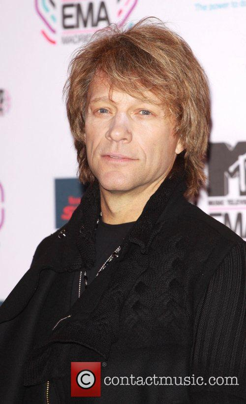 Jon Bon Jovi MTV Europe Music Awards 2010...