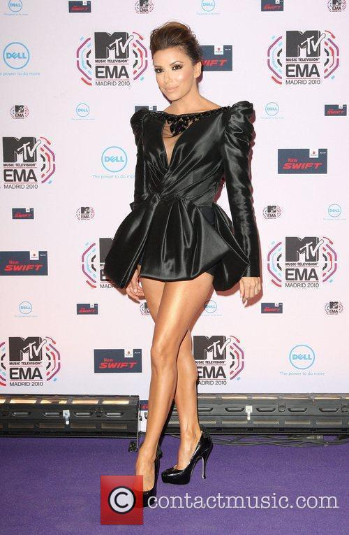 Eva Longoria, Mtv and Mtv european music awards 3