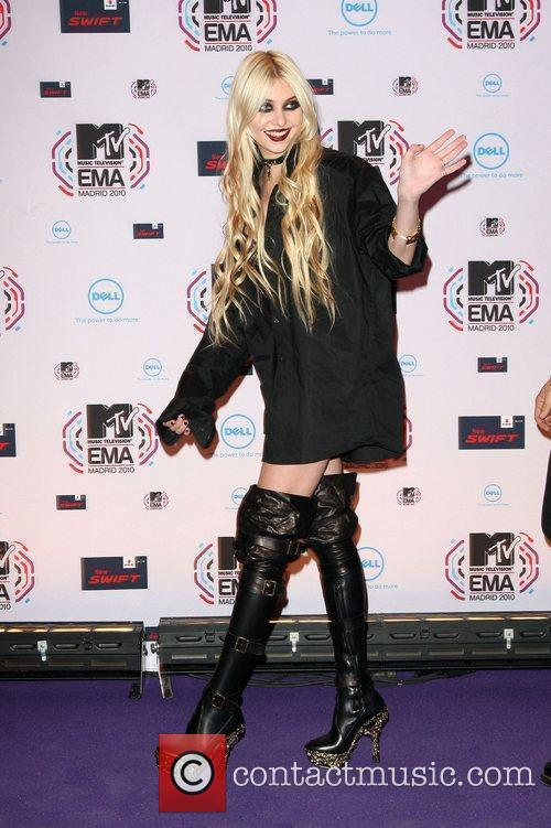 Taylor Momsen MTV Europe Music Awards 2010 at...