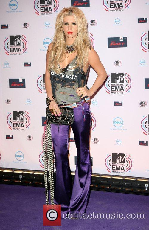 Keesha, Mtv and Mtv european music awards 1