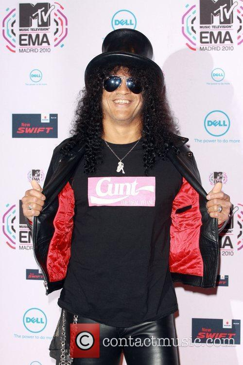 Slash, Mtv and Mtv european music awards 2