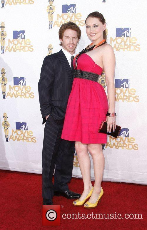 Seth Green and Clare Grant 2010 MTV Movie...
