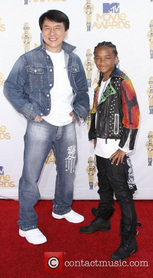 Jackie Chan and Jaden Smith 2010 MTV Movie...