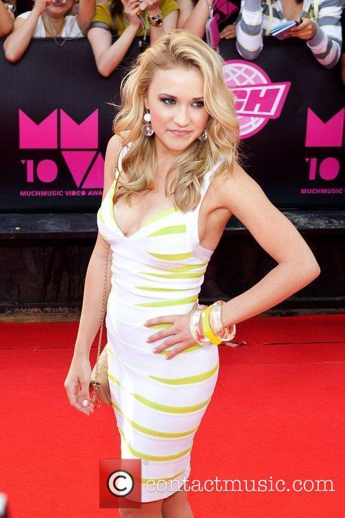 Actress and singer Emily Osment 2010 MuchMusic Video...