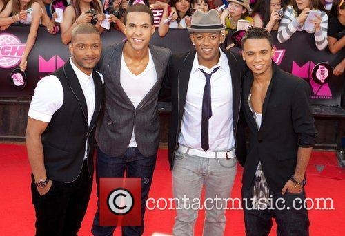 Aston Merrygold and Jls 6