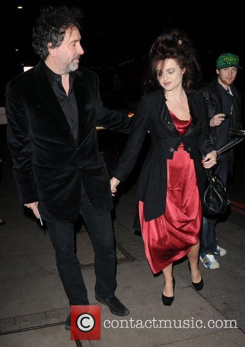 Tim Burton, Helena Bonham Carter and The Music 3