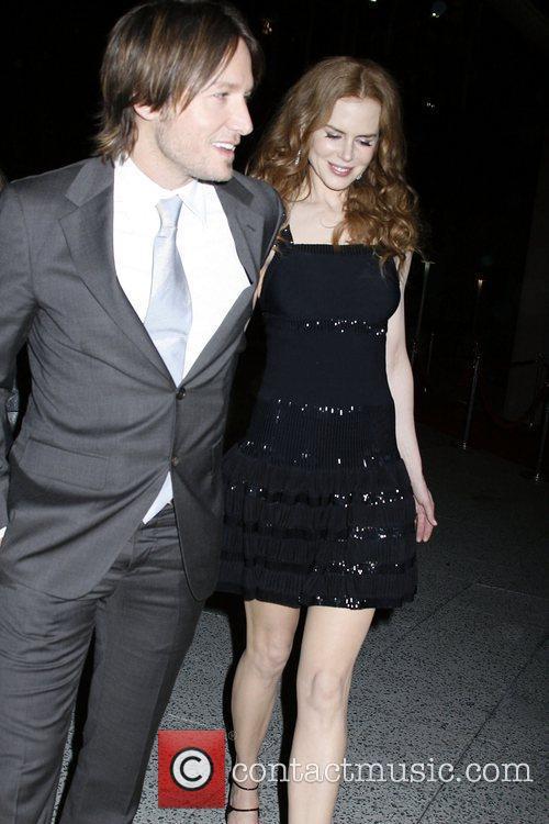 Keith Urban and Nicole Kidman 2010 MusiCares Person...