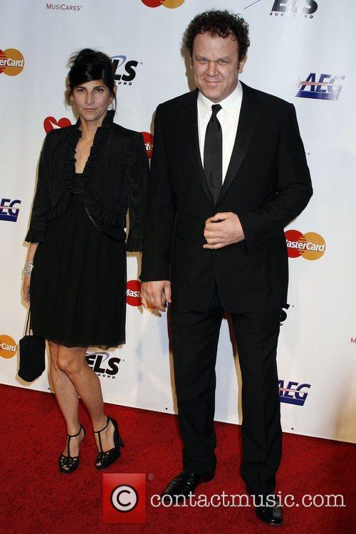John C. Reilly and wife Alison Dickey 2010...