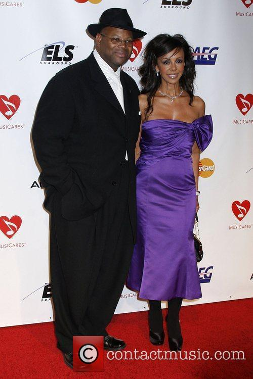 Producer Jimmy Jam and Guest 2010 MusiCares Person...