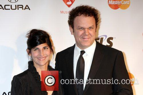 John C Reilly and his wife Alison Dickey...