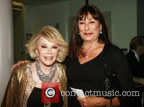 Joan Rivers and Angelica Huston 7