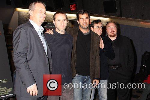 Michael Shannon, Werner Herzog and Willem Dafoe 2