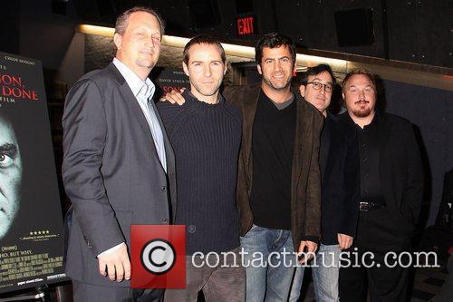 Michael Shannon, Werner Herzog and Willem Dafoe 1