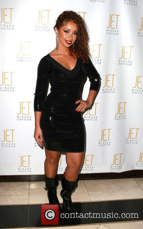 Hosts an evening at Jet nightclub inside The...