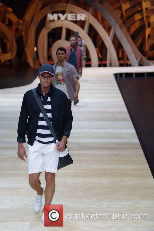 The Myer department store holds its Spring/Summer 2010/2011...