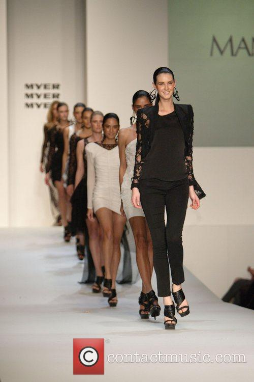 The Myer department store holds its Spring/Summer 2010/11...