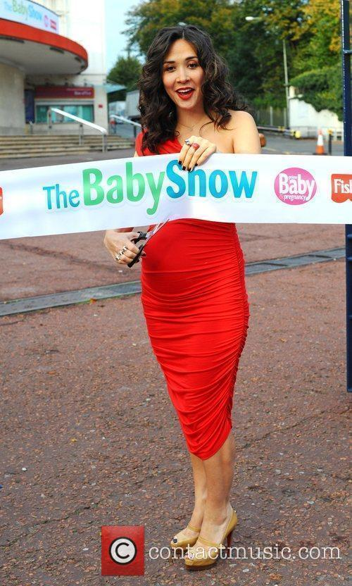 Myleene Klass opens the Baby Show at Earls...