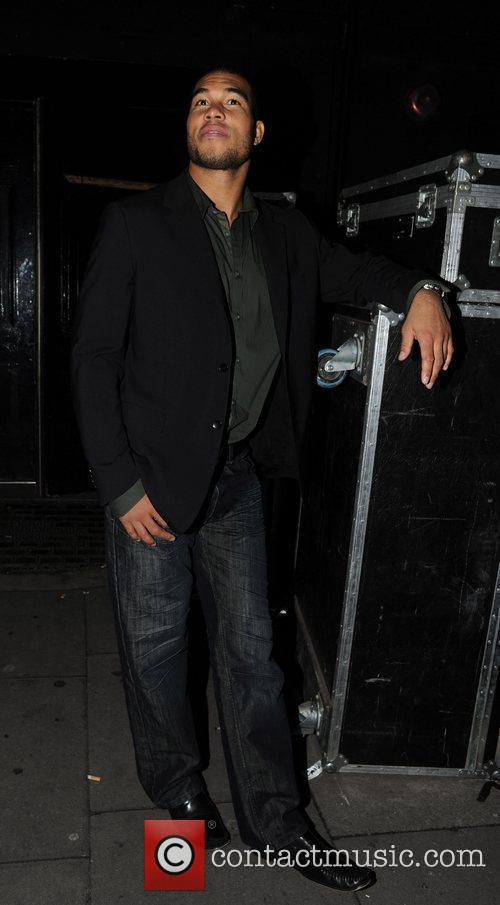 Jason Bell is seen leaving Koko in Camden...