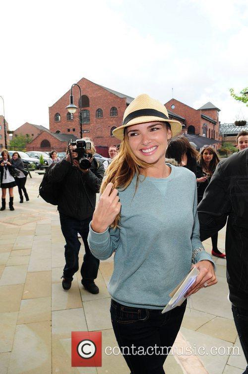 Nadine Coyle Nadine Coyle visits Key 103 Radio...