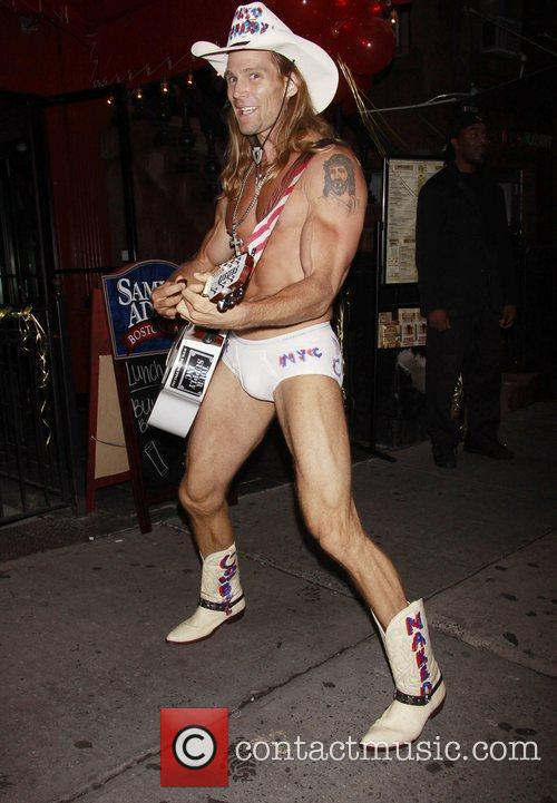 Robert John Burck Aka The Naked Cowboy 7