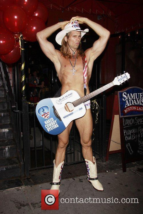 Robert John Burck aka The Naked Cowboy