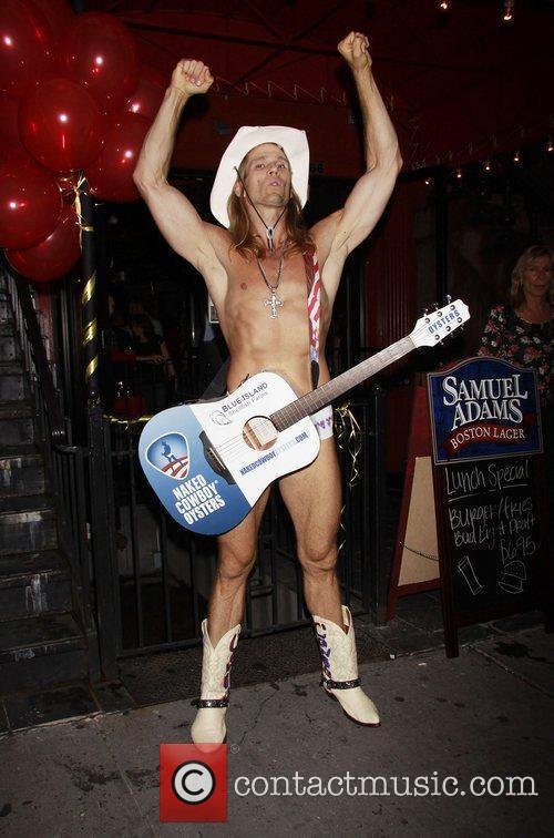 Robert John Burck aka The Naked Cowboy 21