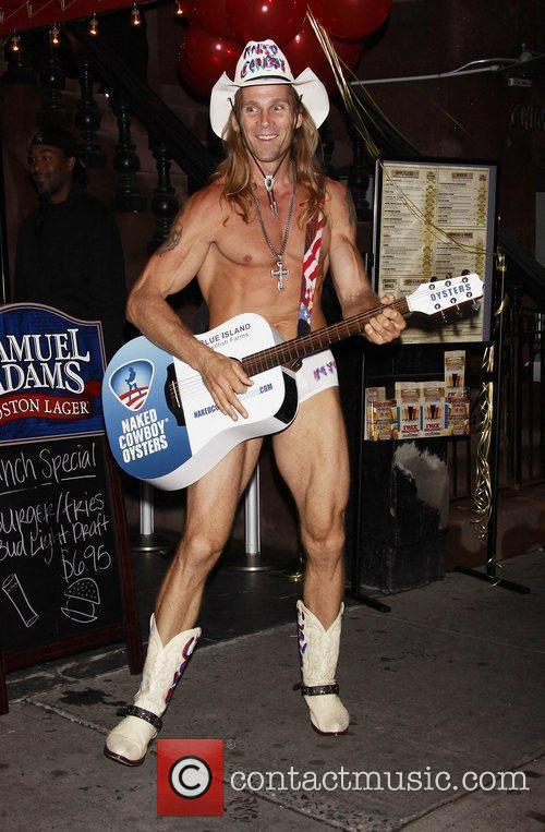 Robert John Burck aka The Naked Cowboy 16