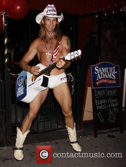 Robert John Burck aka The Naked Cowboy 18