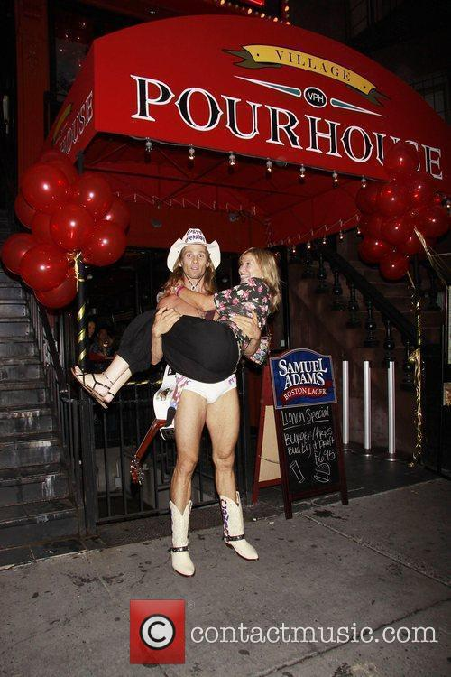 Robert John Burck aka The Naked Cowboy 29