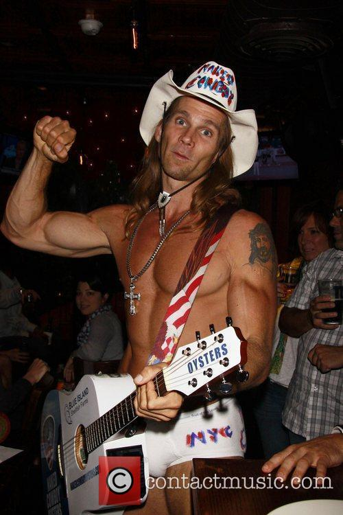 Robert John Burck Aka The Naked Cowboy 3