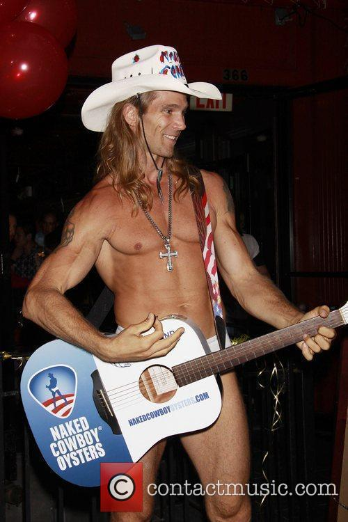 Robert John Burck Aka The Naked Cowboy 1