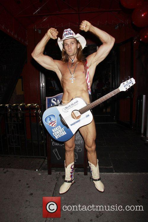 Robert John Burck Aka The Naked Cowboy 8