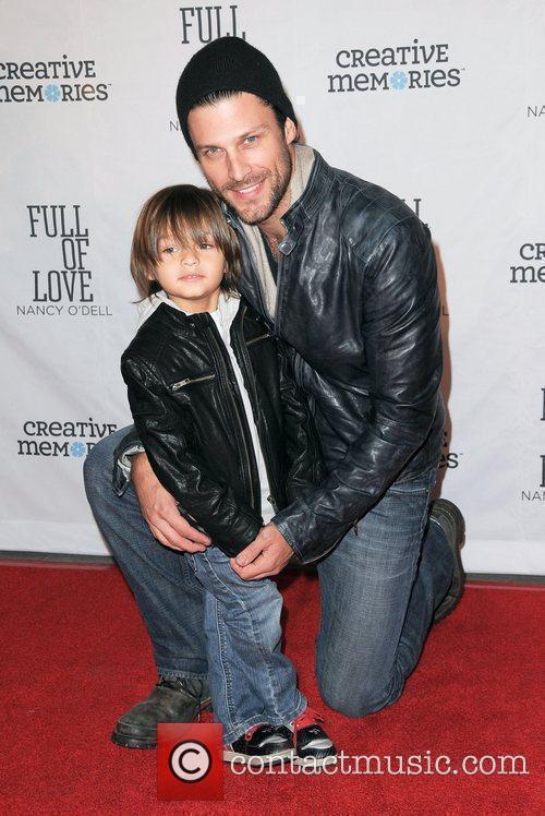Greg Vaughan and his son Jathon  Nancy...