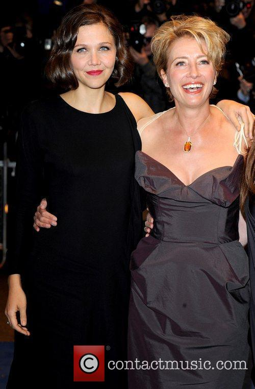 Maggie Gyllenhaal and Emma Thompson 5