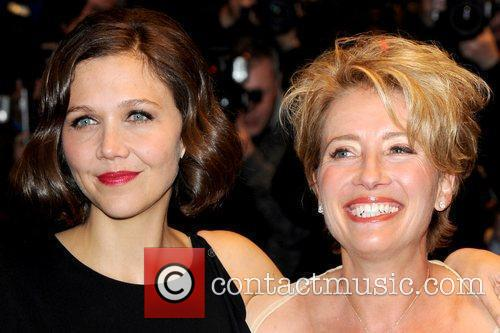 Maggie Gyllenhaal and Emma Thompson 1