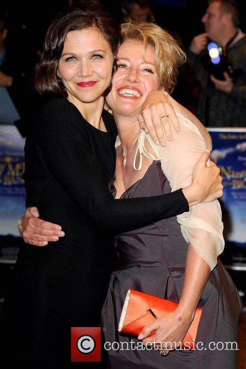 Maggie Gyllenhaal, Emma Thompson, Odeon West End