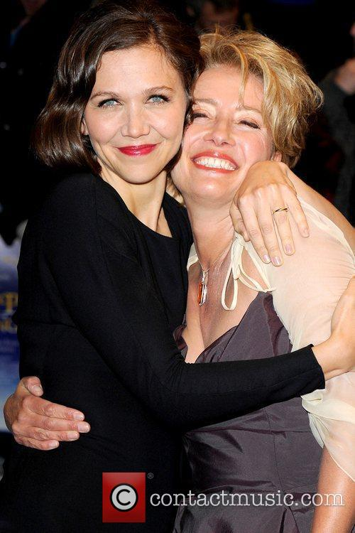 Maggie Gyllenhaal and Emma Thompson 6