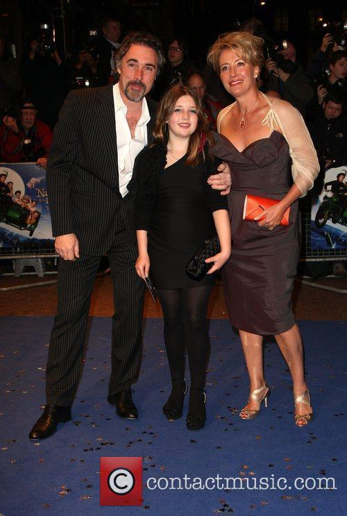 Greg Wise, Gaia Romilly Wise and Emma Thompson 1