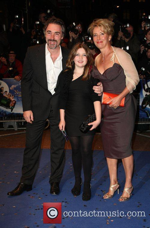 Greg Wise, Gaia Romilly Wise and Emma Thompson 2
