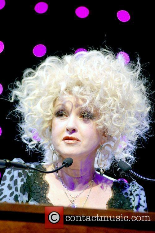 Cyndi Lauper, winner of Chairman's Award for Sustained...